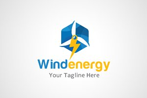 Wind Energy Logo Design / icon
