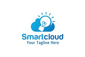Smart Cloud Logo Design / icon