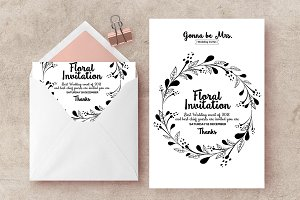 Ornament Invite Templates