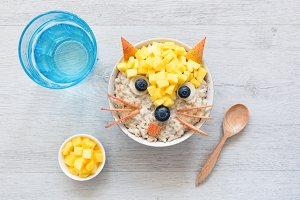 Healthy Funny Cute Breakfast For Kid