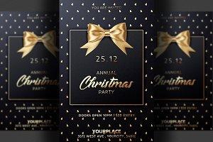 2 Classy Christmas Flyer Invitation