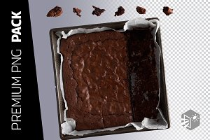 7 BROWNIES PNG IMAGES