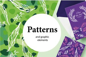 Patterns and graphic  elements