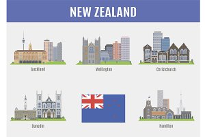 Cities in New Zealand