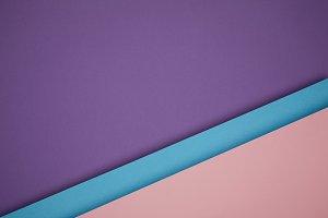 beautiful geometric blue, pink and p