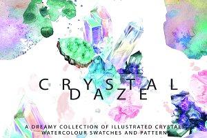 Crystal Illustrations & Patterns