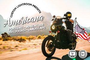 Americana Lightroom Preset Bundle