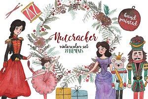 Nutcracker watercolor set!