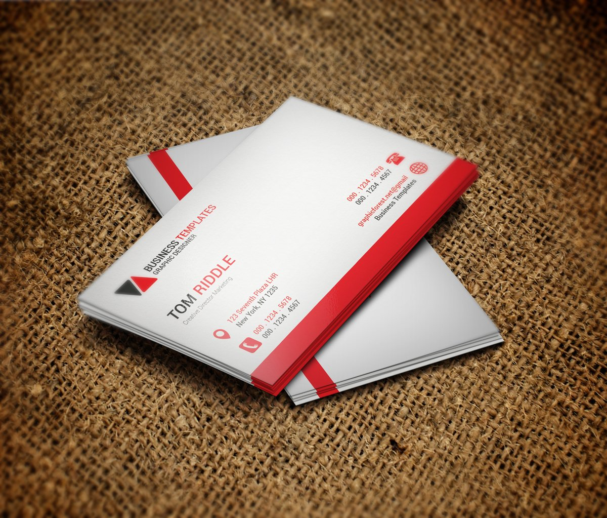 Cool Business Card Templates: Cool Business Card Template