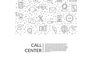 Vector line call support center