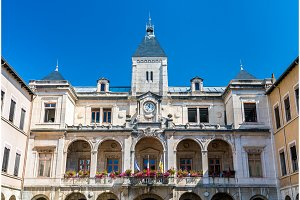 Town hall of Vienne in France