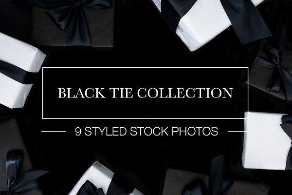 Stock Photo Bundle: Black Tie