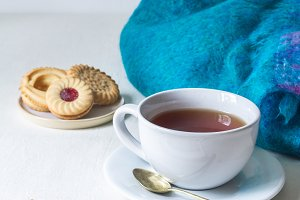 Cosy Tea Time & Blanket