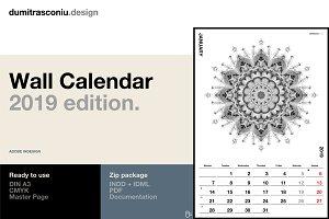 A3 Wall Calendar - 2019 edition