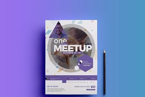 Event Flyer PSD Template V01