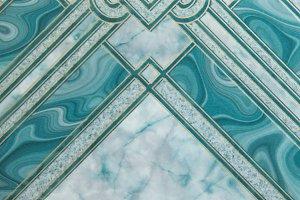 Green marble pattern