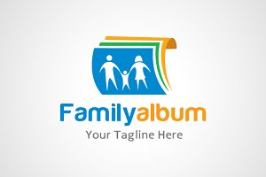 Family Album Photo Logo / icon