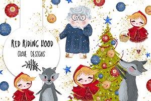 Red Riding Hood Clip Art
