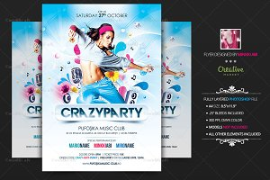 Crazy Party Flyer | Poster