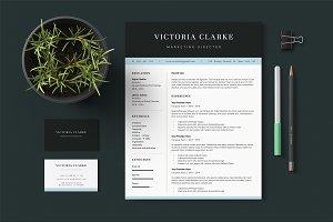 Victoria - Letter Resume