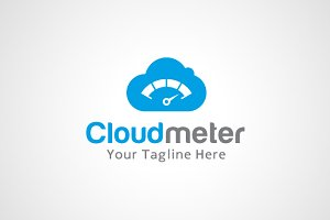 Cloud Meter Logo Design / icon