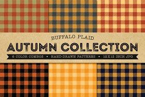 Buffalo Plaid Pattern Digital Paper