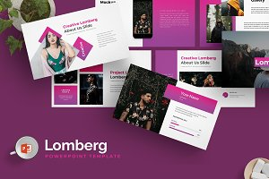 Lomberg -Powerpoint Template