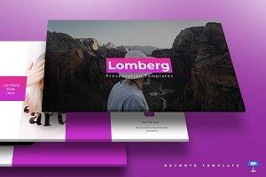 Lomberg -Keynote Template