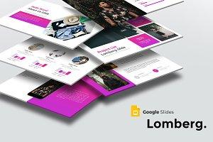 Lomberg -Google Slides Template