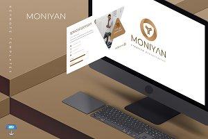 Moniyan - Keynote Template