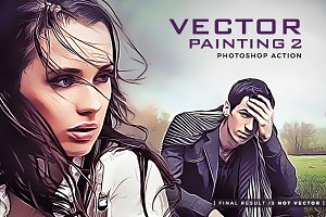 Vector Painting 2 Photoshop Action