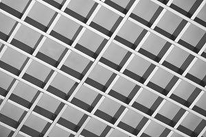 Metal grid texture background