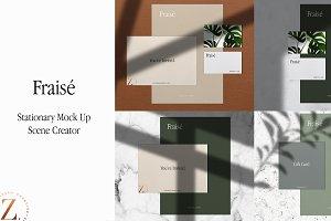 Fraise - Mock Up Scene Creator