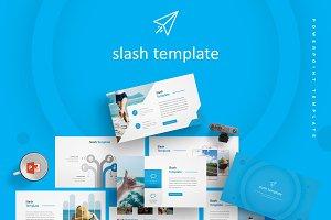 Slash - Powerpoint Template