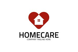 Love Home - Homecare Logo Template