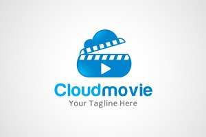 Cloud Movie Logo / icon