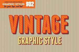 10 Retro Vintage Layer Style for AI