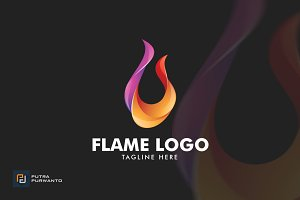 Flame / Fire - Logo Template