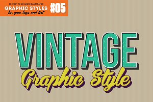 10 Retro Vintage  Style for AI