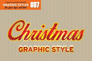 10 Retro Christmas Style for AI