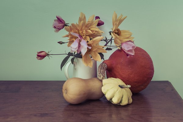 Arts & Entertainment Stock Photos: The Image Shop - Autumn still life