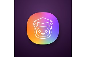 Machine learning app icon