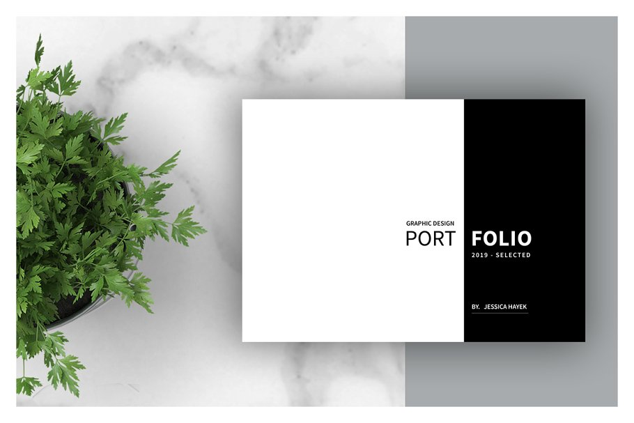 Graphic Design Portfolio Template Brochure Templates