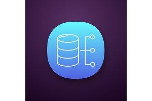 Relational database app icon