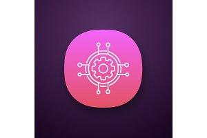 Digital settings app icon