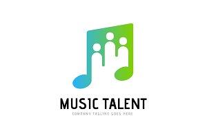 Musician Artist Talent Logo Template