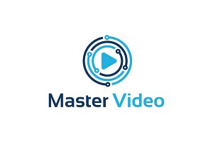 Master Digital Video Logo Template