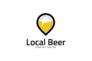 Local Beer Logo Template
