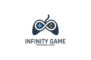 Infinity Game Logo Template