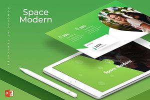 Space Modern - Powerpoint Template